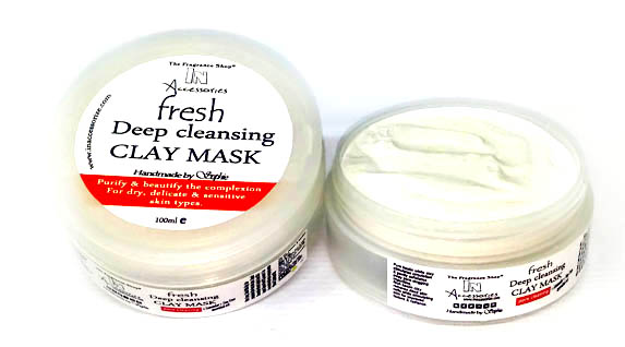White clay mask