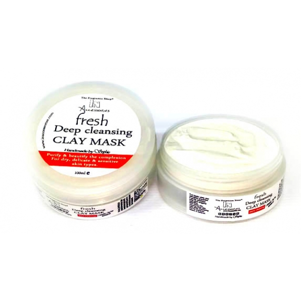 Deep Cleansing White Clay Mask